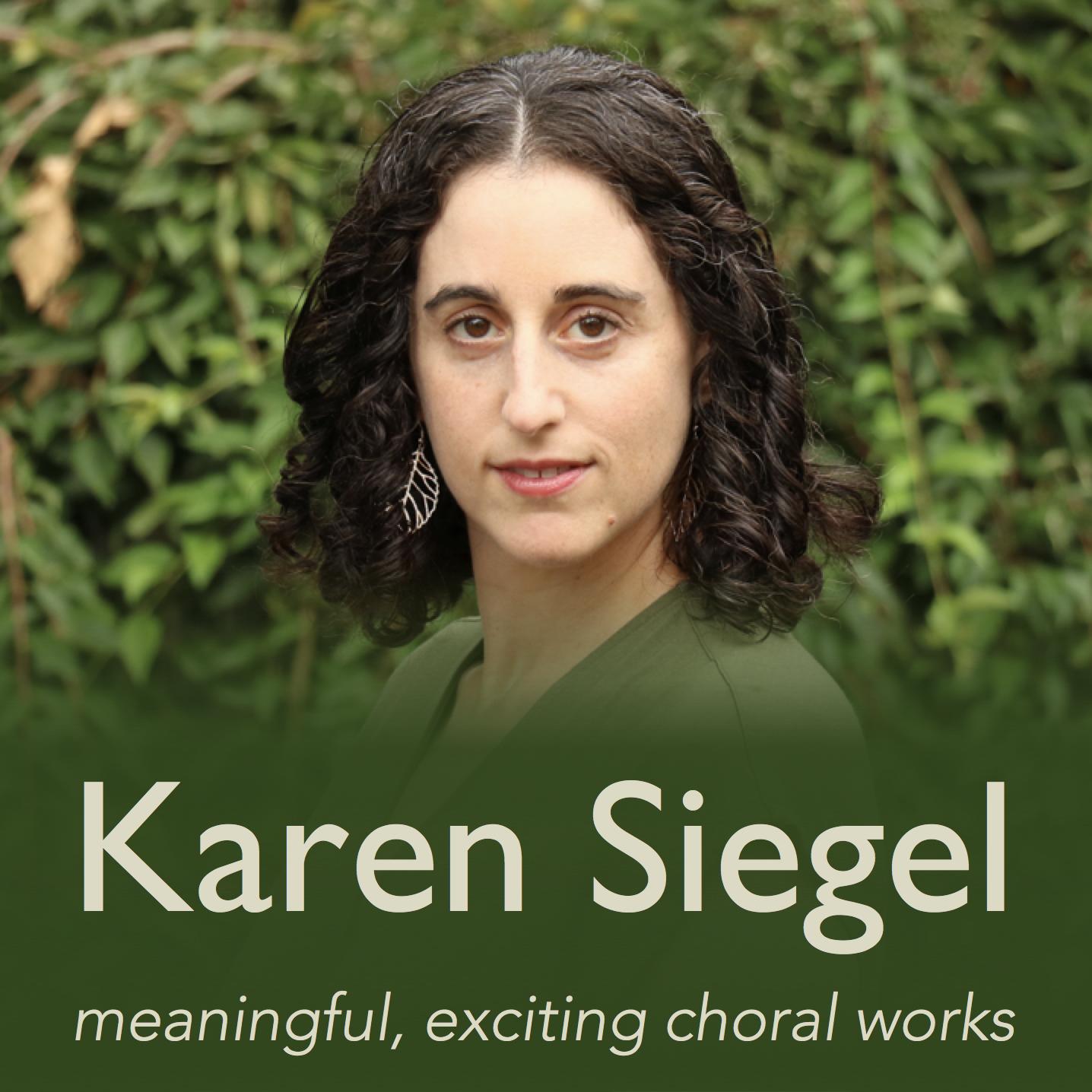 Karen Siegel, Composer